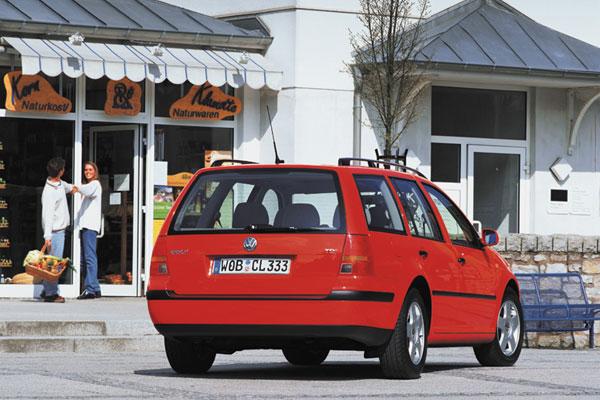 VW Golf Variant - Heckansicht