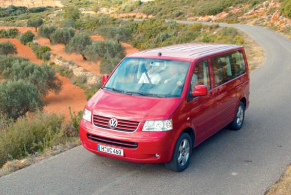 VW Multivan - Frontansicht