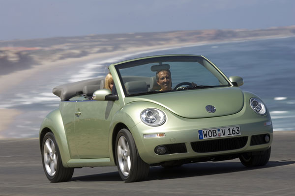 VW New Beetle Cabriolet - Frontansicht