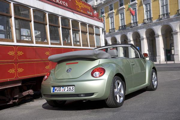 VW New Beetle Cabriolet - Heckansicht