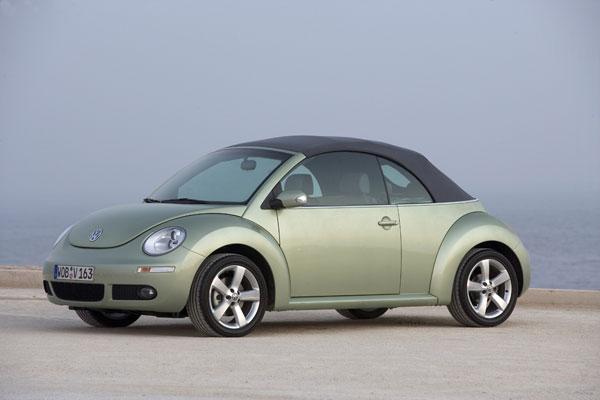 VW New Beetle Cabriolet - Verdeck geschlossen