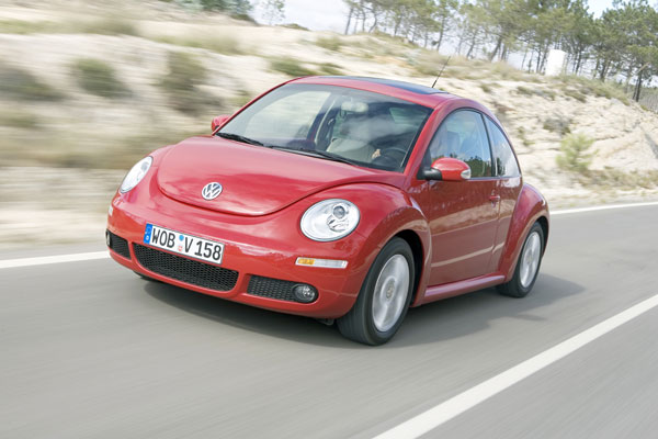 VW New Beetle - Frontansicht