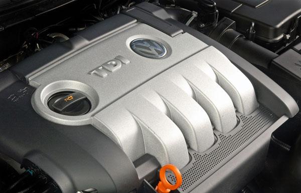 VW Passat - Dieselmotor