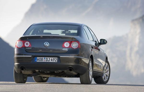 VW Passat - Heckansicht