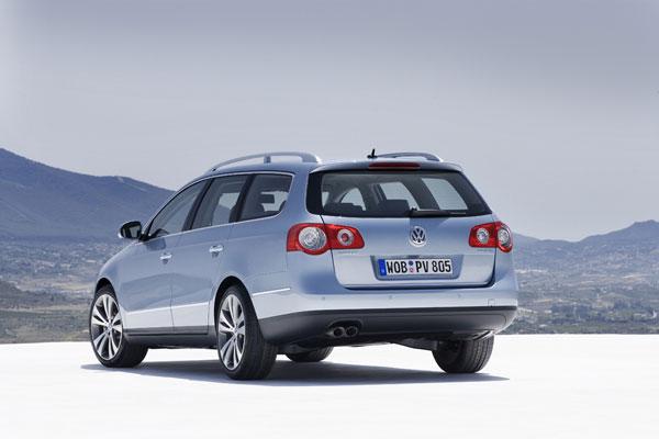 VW Passat Variant - Heckansicht