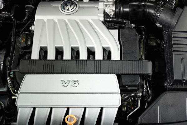 VW Passat Variant - V6-Motor