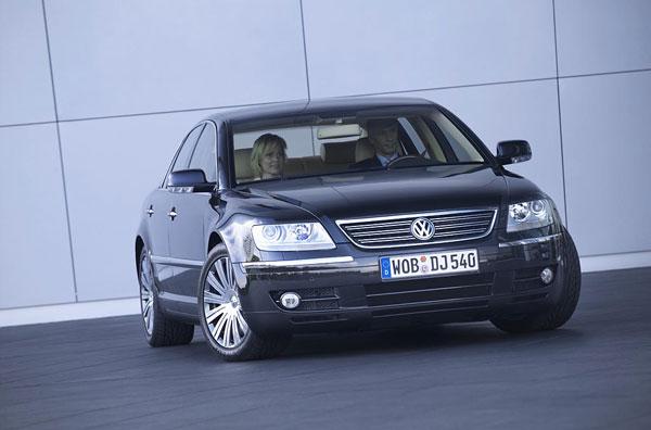 VW Phaeton - Frontansicht