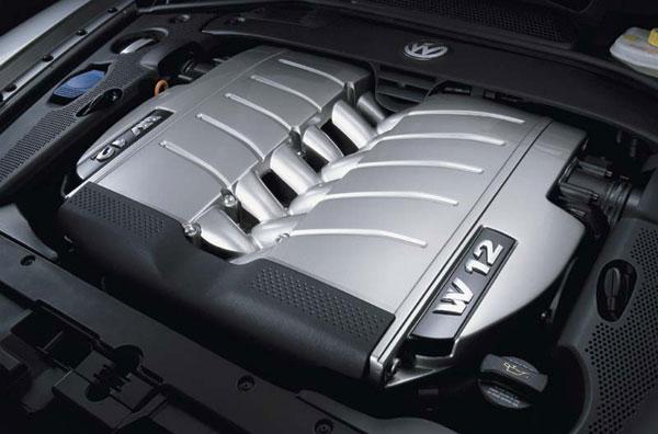 VW Phaeton - W12-Motor