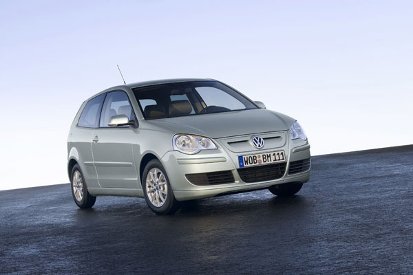 VW Polo BlueMotion - Frontansicht