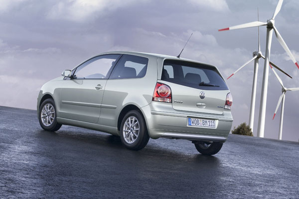 VW Polo BlueMotion - Heckansicht
