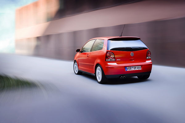 VW Polo GTI - Heckansicht