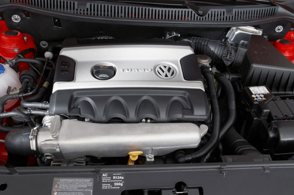 VW Polo GTI - Turbomotor