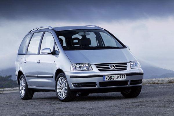 VW Sharan - Frontansicht