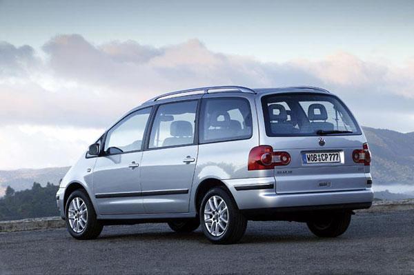 VW Sharan - Heckansicht