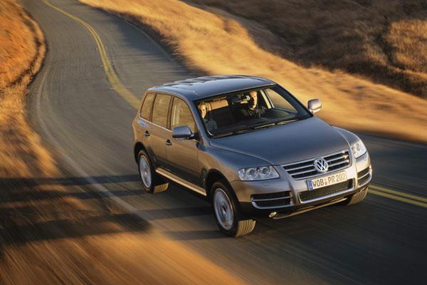 VW Touareg - Frontansicht