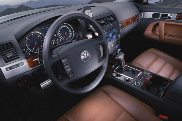 VW Touareg - Innenraum