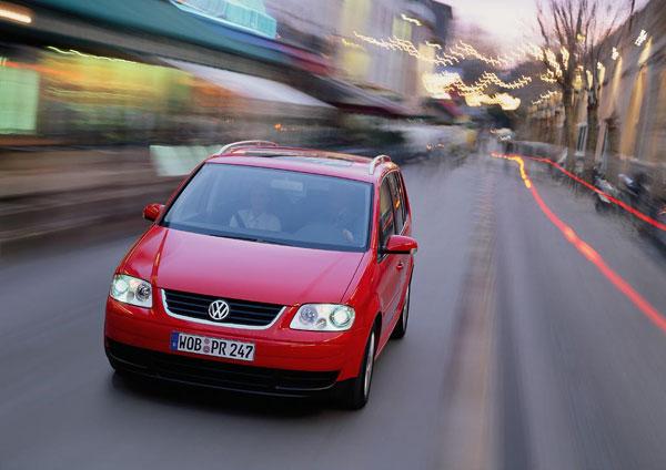 VW Touran - Frontansicht