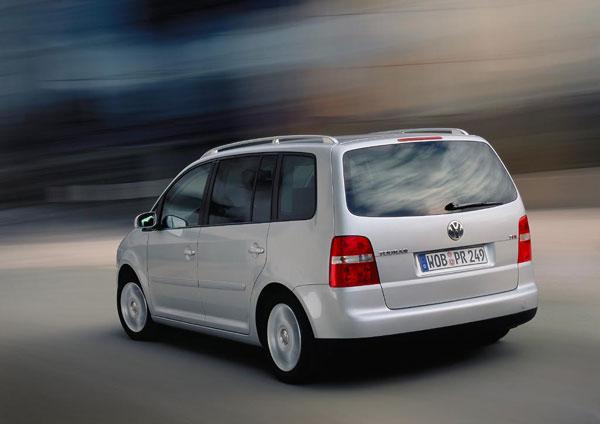 VW Touran - Heckansicht