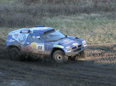 Volkswagen verabschiedet Dakar-Team