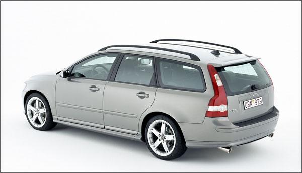 Volvo V50 - Heckansicht
