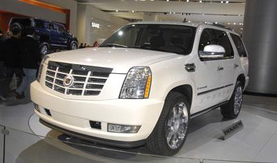 Cadillac mit vier Premieren