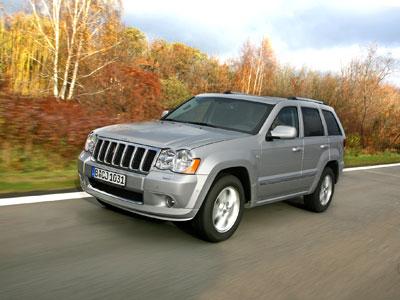 Chrysler und Jeep in 2008: Dezente Retuschen