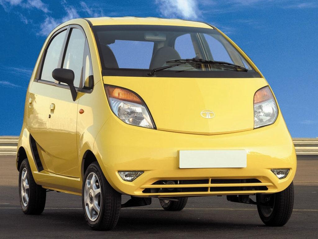 Der Tata Nano ist das billigste Auto der Welt