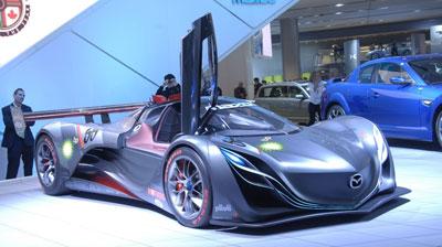 Mazda ganz im Zeichen des Wankel-Motors