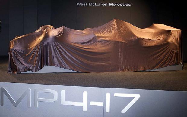 McLaren Mercedes zieht nach: Der neue Silberpfeil