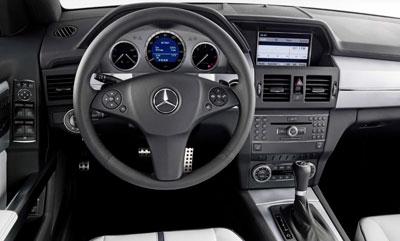 Mercedes-Benz GLK in Detroit noch als Studie