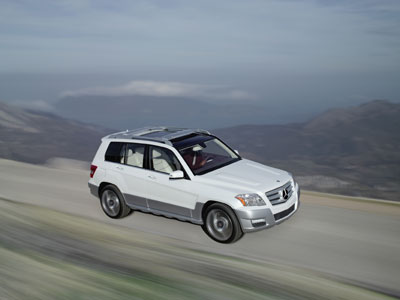 Mercedes-Benz präsentiert auf der NAIAS den GLK