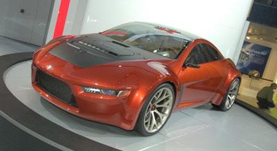 Mitsubishi zeigt Coupéstudie Concept-RA