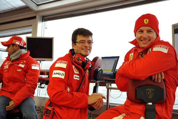 Partnerschaft mit Ferrari nicht befristet: Kimi mag man eben