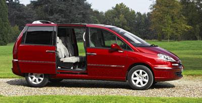 Peugeot 807 für 2008 überarbeitet
