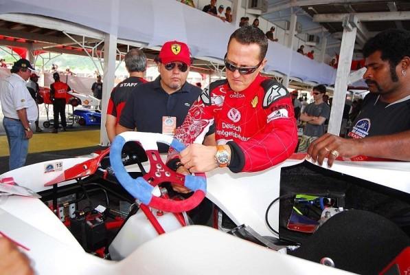 Schumacher kann nicht anders: Testfahrer bei Ferrari