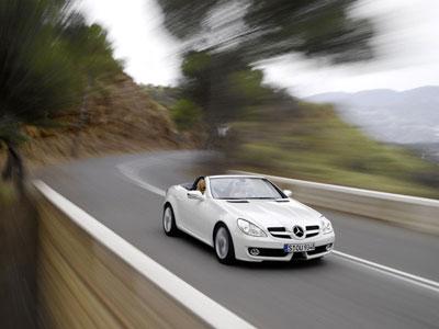 Stärkere Motoren für Mercedes SLK