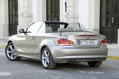 Vorstellung BMW 1-er Cabrio: Schneller offen