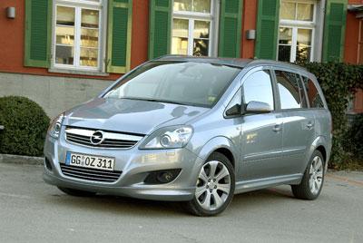 Vorstellung: Opel Zafira - Dynamisches für die Familie