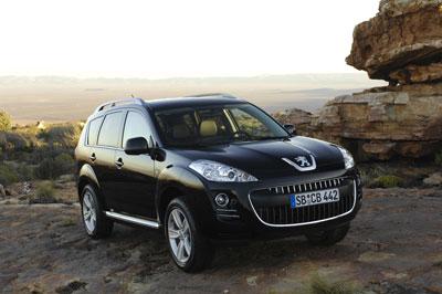 Vorstellung Peugeot 4007 Platinum HDi 155: Viel Durchzug bei wenig Durst