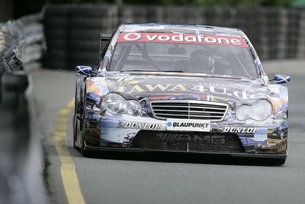Di Resta im 2008er-Benz: Automobile Zeitreise