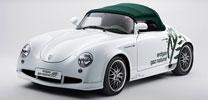 Genf: Retro-Roadster mit Erdgas-Turbomotor