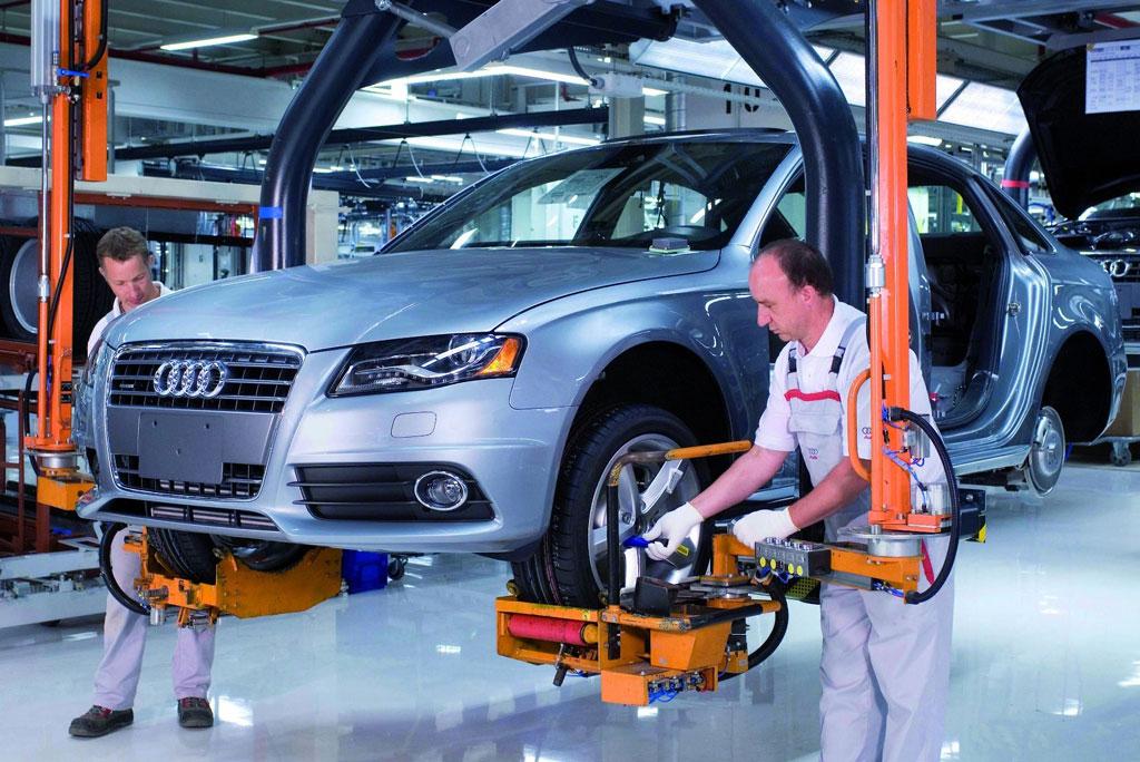 Produktionsrekord bei Audi