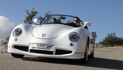 Retro-Roadster mit Erdgas-Turbomotor