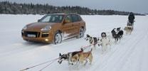 Videobericht - Porsche Cayenne GTS in Kiruna