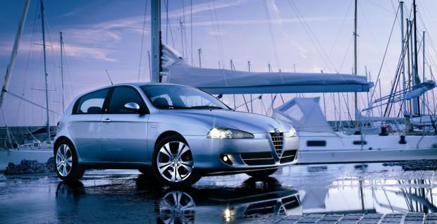 Vorstellung Alfa GT und Alfa 147 Quadrifoglio Verde Q2: hohe Fahrdynamik