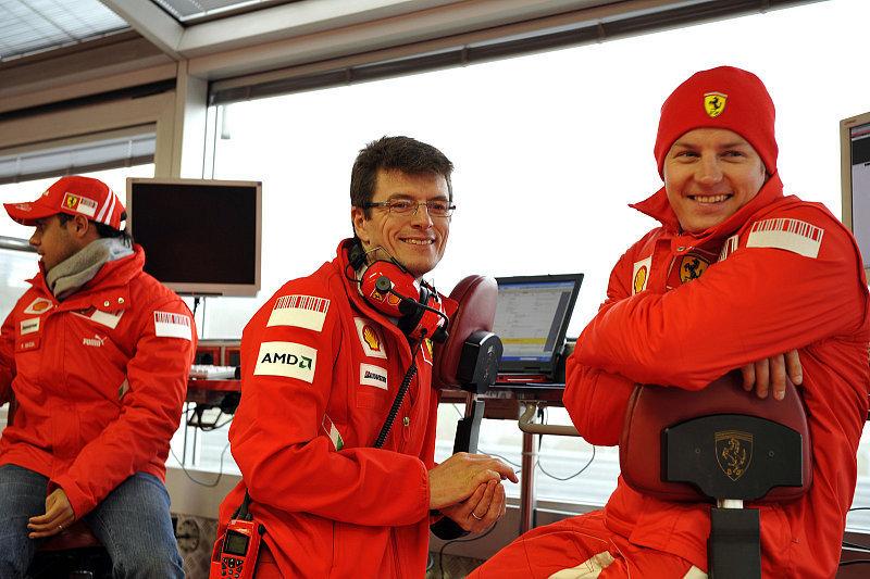 Auch Räikkönen wrooomt: In keiner Eile