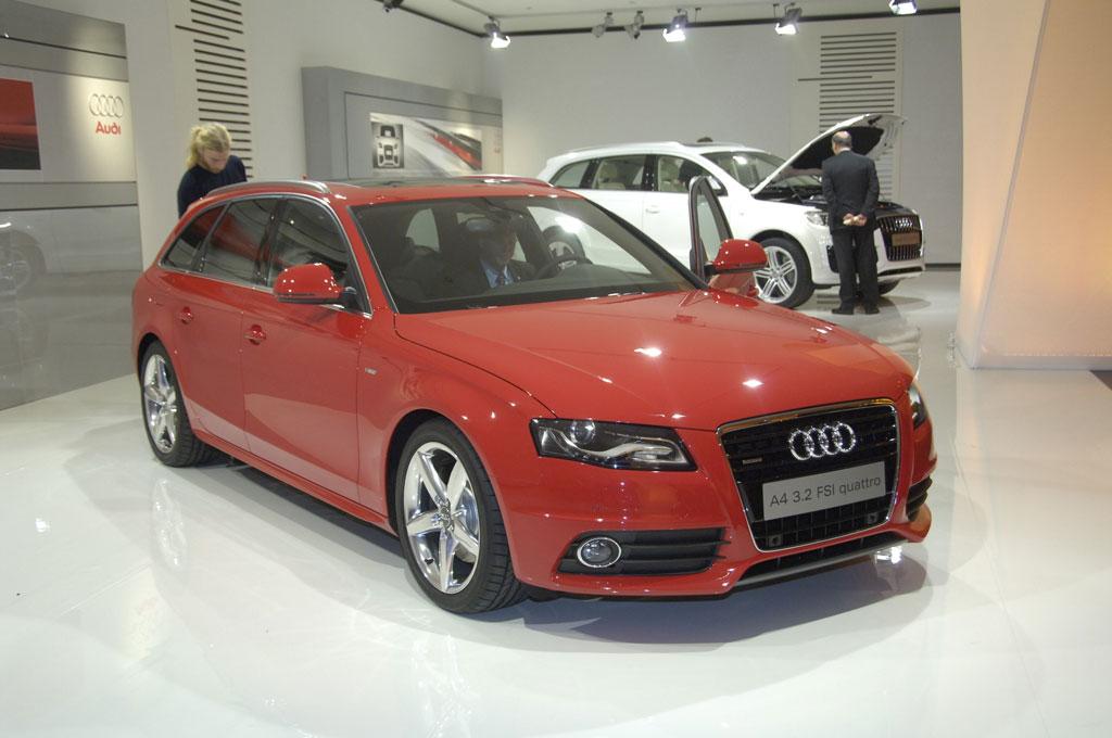 Audi A4 Avant mit bis zu 1430 Litern Stauraum