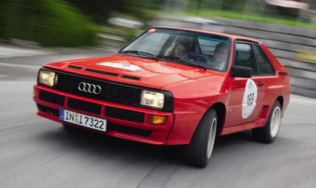 Audi feiert in Essen 25 Jahre Sport Quattro