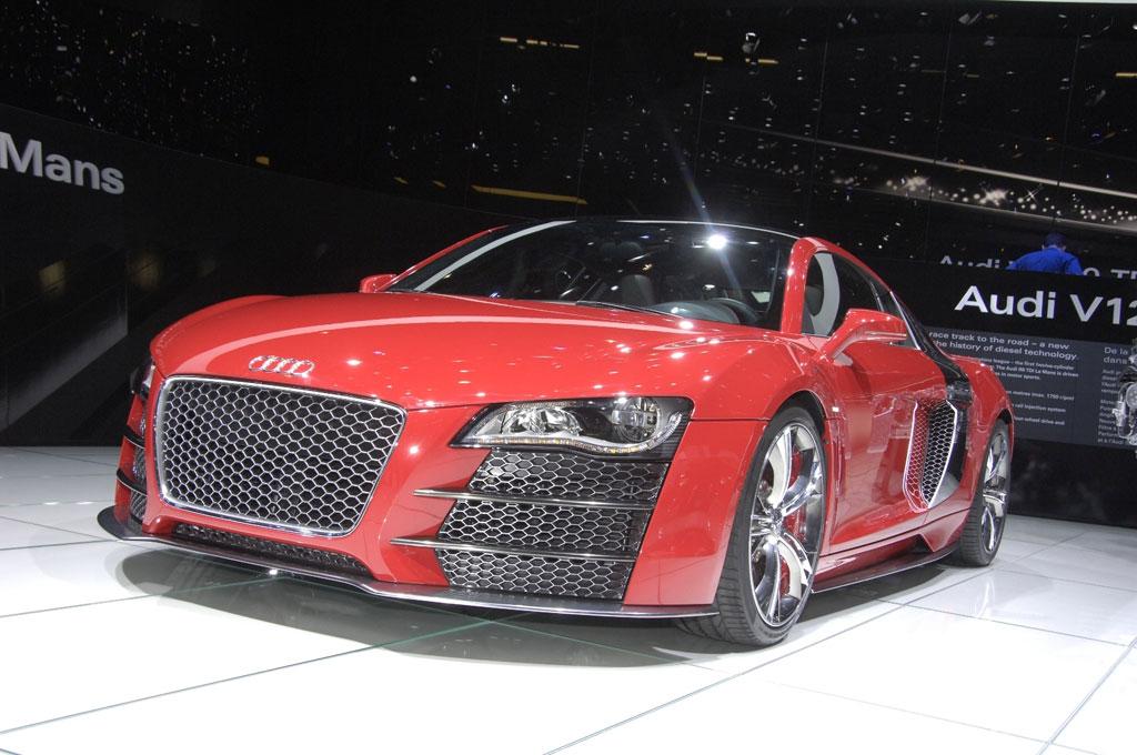 Audi zeigt Q7 und R8 mit 500 PS starkem V12 TDI