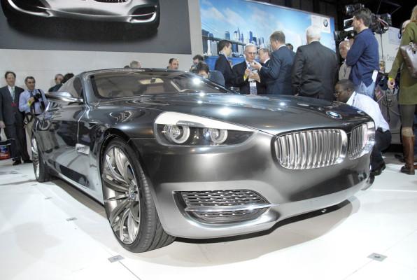 BMW stellt viertürigen Gran Turismo Concept CS in New York aus